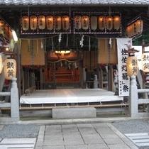 ▲稗田野神社 拝殿