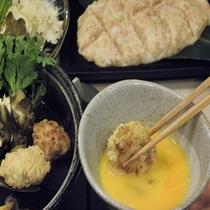 軟骨入り鶏のすき鍋