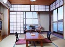 海が見える客室例