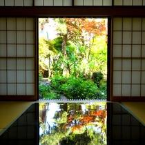 お部屋から竹林を眺める 静かで贅沢なひとときを