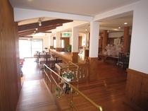 食堂へのスロープ