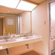 新館和室洗面所