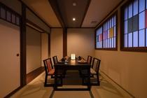 【グリルダイニング藍】 2階の個室 4部屋 完備