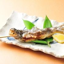 スタンダードプラン焼き物「岩魚の塩焼き」♪
