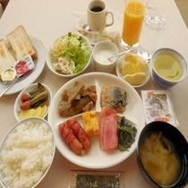 ◆和・洋朝食バイキング(一例)