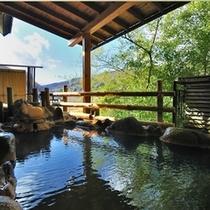 河原石風呂(露天風呂)