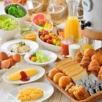 カリフォルニア朝食バイキング