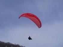 大空へパラグライダー