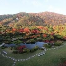 秋の水月園