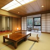 【和室12帖】日本庭園に面した一番人気のお部屋