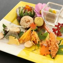 【前菜】秋の旬まるごとプラン