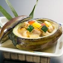 【初夏の焼物】賀茂茄子の釜焼き