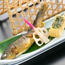 【初夏の進肴】若鮎塩焼き