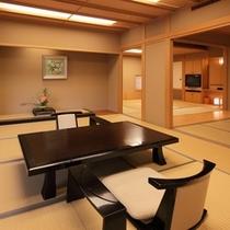 【特別室】次の間・バス付の広い部屋