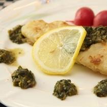 夕食 お魚料理