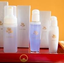 【ふきやオリジナル】 *特製オリジナル基礎化粧品セット「むらさきシリーズ」(洗顔・化粧水・乳美液)