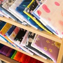 【アメニティ】 *豊富に取りそろえた色浴衣の中からお好きなものをお選びください。