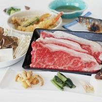 和食の夕食一例