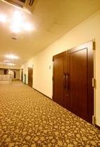 宴会会場「白雲の間」の入口
