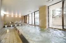 炭酸カルシウム温泉大浴場☆宿泊者24時まで入浴可!