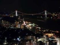 ゆめタワーからの夜景