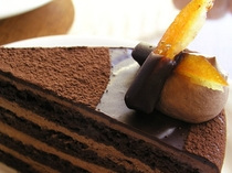 チョコレートケーキ イメージ