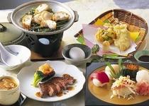 四季亭 夕食