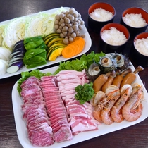 BBQ食材(4人前)