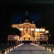 修禅寺キャンドルナイト