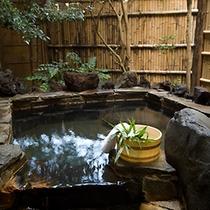 ■露天風呂付き客室『石廊』