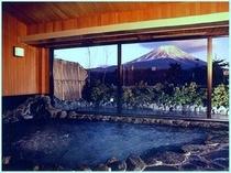 大浴場からも雄大な富士を御覧頂けます