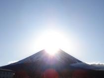 11月中旬 と 1月下旬 にダイアモンド富士を御覧頂けます