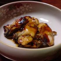 冬料理 牡蠣の田楽3