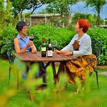 *【〜jardin〜庭園】邸宅に招かれたような気持になる空間で、おしゃべりを心ゆくまでゆっくりと