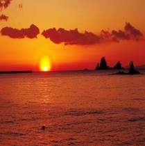 南伊豆 大瀬の夕日