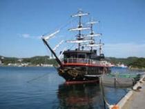 サスケハナ号 遊覧船「黒船」に乗って下田港内めぐり