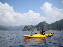 シーカヤック 美しい伊豆の海をシーカヤックを使って散策に出かけましょう