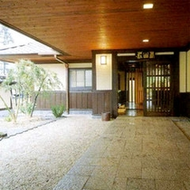 ■新館玄関■
