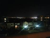 【屋上からの夜景】