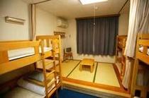 二段ベッド室