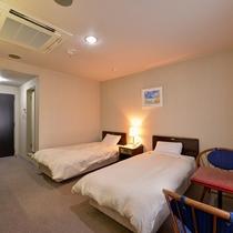*【部屋一例/(ツイン】清潔感があり、人気のお部屋です。