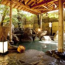 露天風呂なら長湯も可能です。じっくり身体に効く温泉をご堪能下さい。