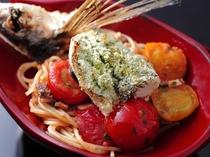 イタリアンランチの内容は、その日の仕入れにより変わります。季節と食材の変化をお楽しみください。