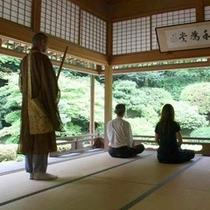 清水寺で座禅体験!
