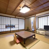 【客室一例】風情ある純和室。人数に合わせてお部屋をご用意致します。