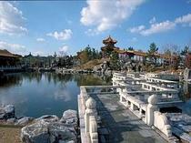 """日本最大級の中国庭園""""燕趙園""""は当館より車で15分"""