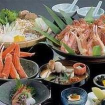 蟹すき鍋(一例)