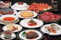 欧風コース料理例(食べ飲み放題)