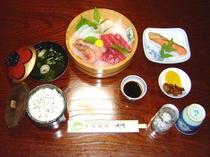 夕食・海鮮・刺身定食プラン・通年