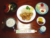 夕食・カラアゲ定食プラン・通年